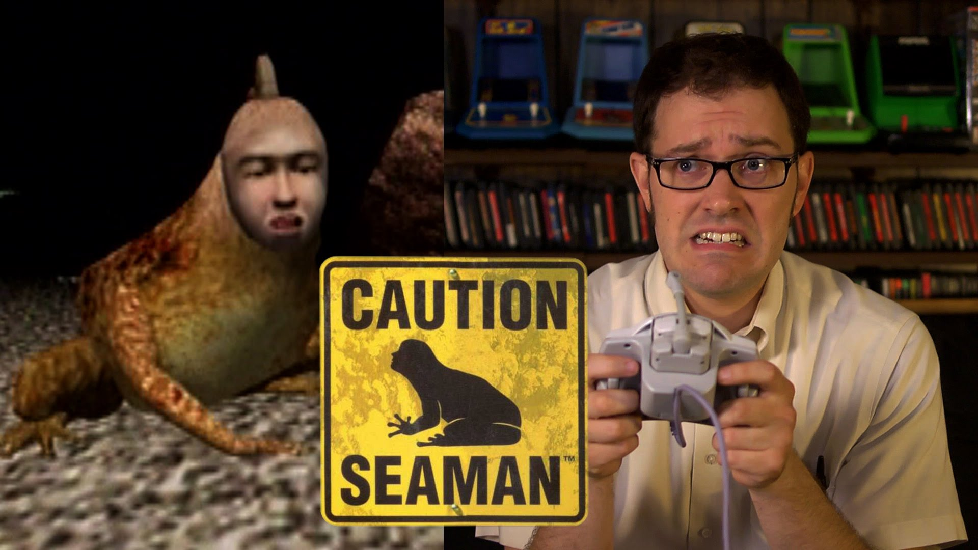 The Angry Video Game Nerd Seaman Tv Episode 2015 Imdb