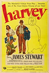 James Stewart, Peggy Dow, Charles Drake, Josephine Hull, and Cecil Kellaway in Harvey (1950)