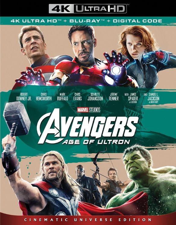 Avengers Age of Ultron 2015 Bluray 2160p TrueHD 5 1 x265 10