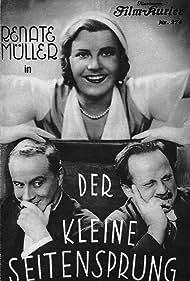Renate Müller, Hermann Thimig, and Otto Wallburg in Der kleine Seitensprung (1931)