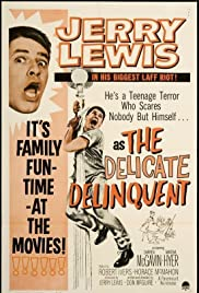 The Delicate Delinquent Poster