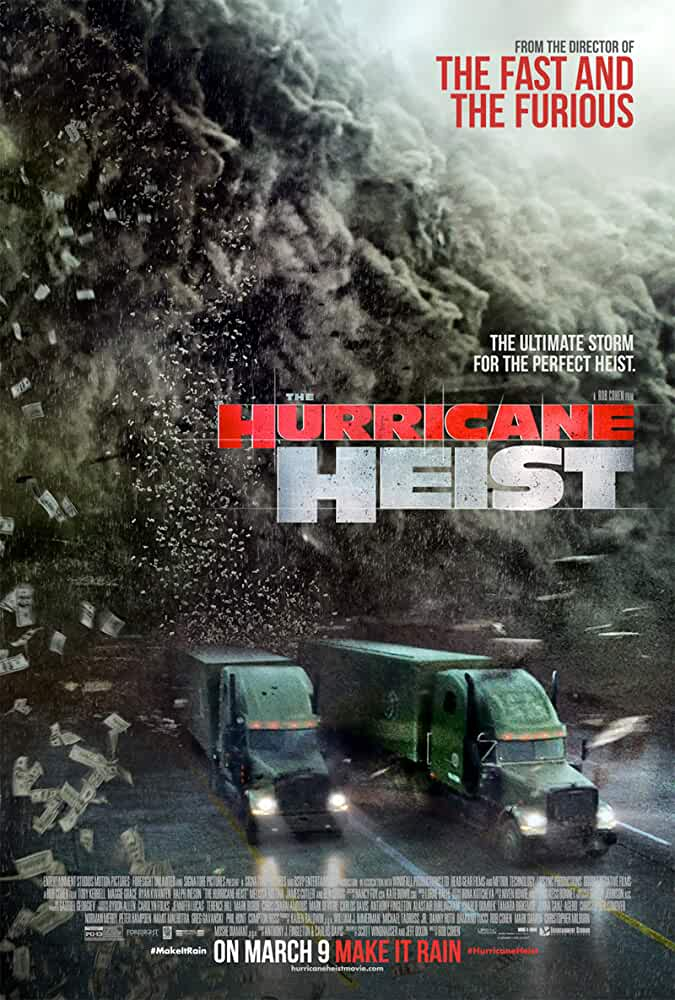 The Hurricane Heist (2018) Dual Audio Hindi ORG 480p BluRay 300MB
