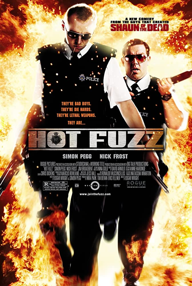 Hot Fuzz 2007 Dual Audio Hindi ORG 400MB BluRay ESubs Download