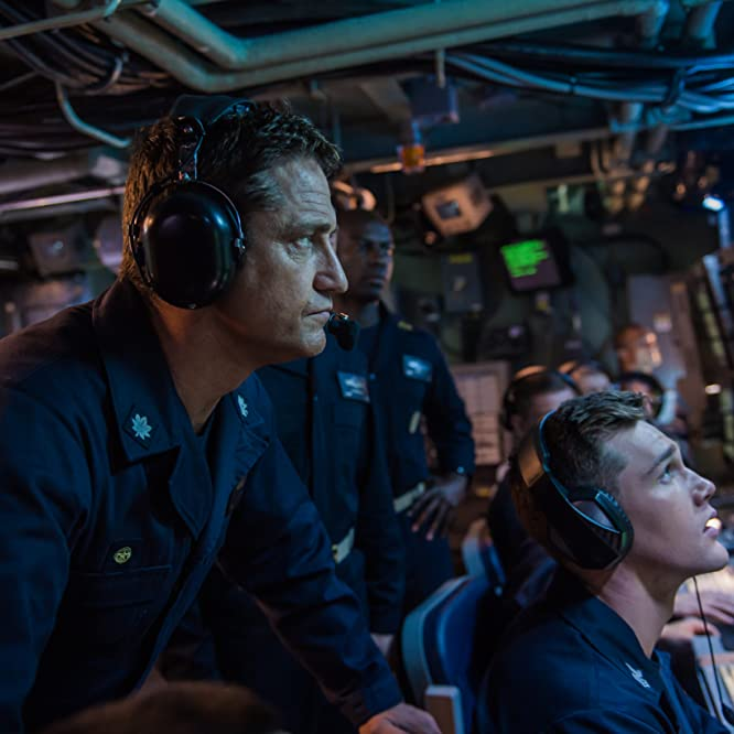 Gerard Butler in Hunter Killer (2018)