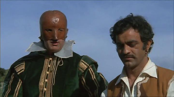 Sal Borgese and Mimmo Palmara in Isabella, duchessa dei diavoli (1969)