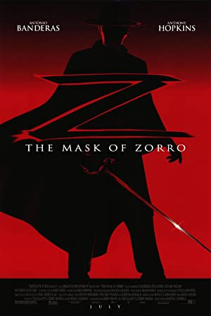 The Mask of Zorro Poster Image