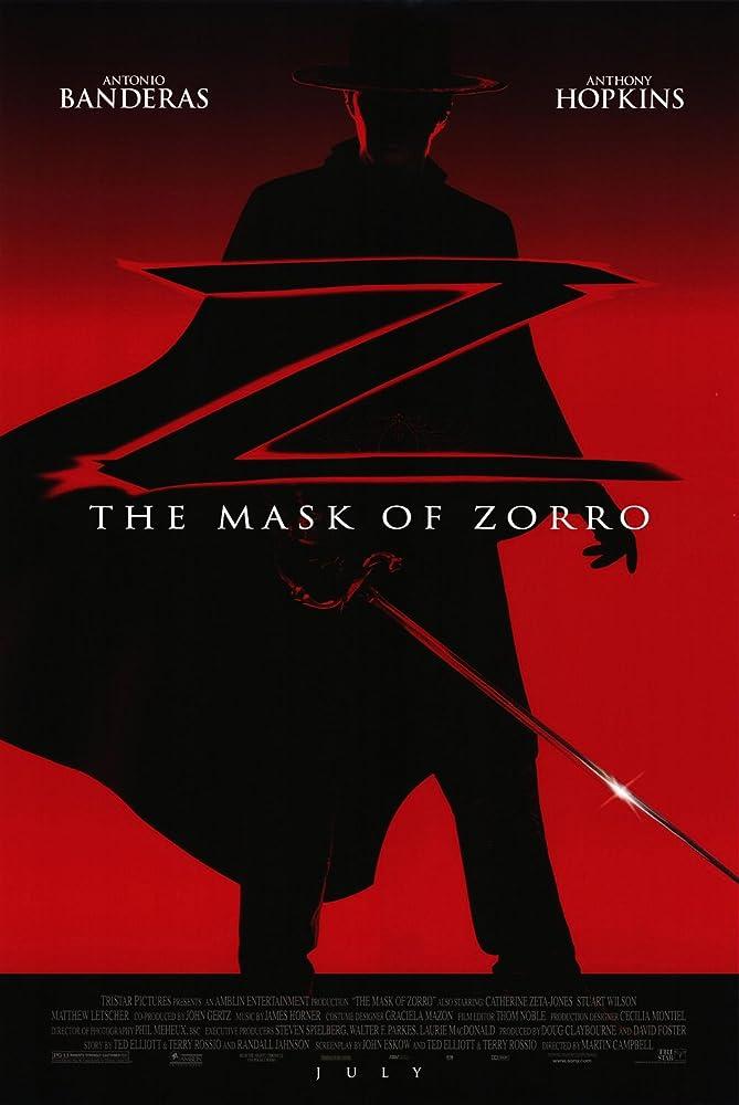 The Mask Of Zorro 1998 Hindi Dual Audio 720p BluRay 1.1GB x264 AAC