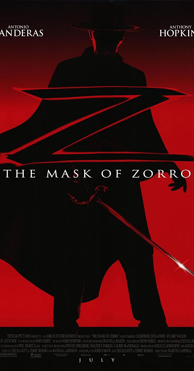 The Mask of Zorro (1998-2005)