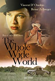 Renée Zellweger and Vincent D'Onofrio in The Whole Wide World (1996)
