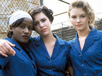 Ione Skye, Missy Crider, and Bahni Turpin in Girls in Prison (1994)