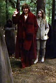 Tom Baker and Lalla Ward in Doctor Who (1963)