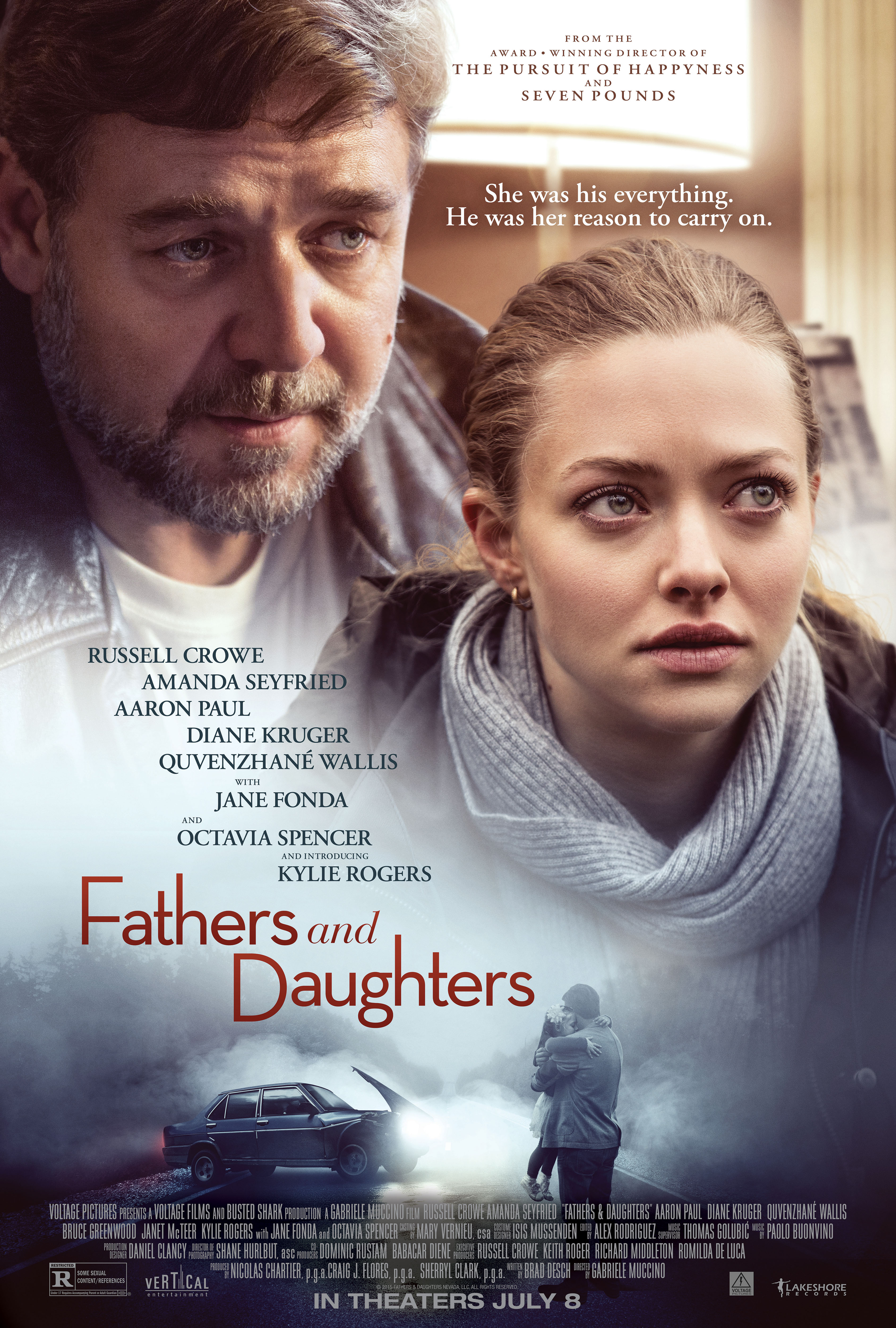 Fathers & Daughters (2015) BluRay 480p, 720p & 1080p