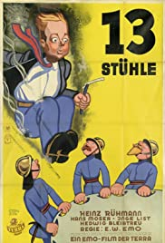 13 Stühle Poster