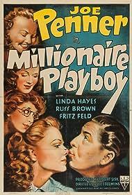 Linda Hayes and Joe Penner in Millionaire Playboy (1940)