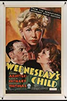 Wednesday's Child (1934) Poster