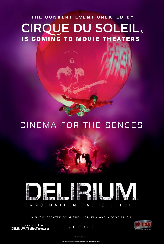 Cirque Du Soleil Delirium 2008 Imdb