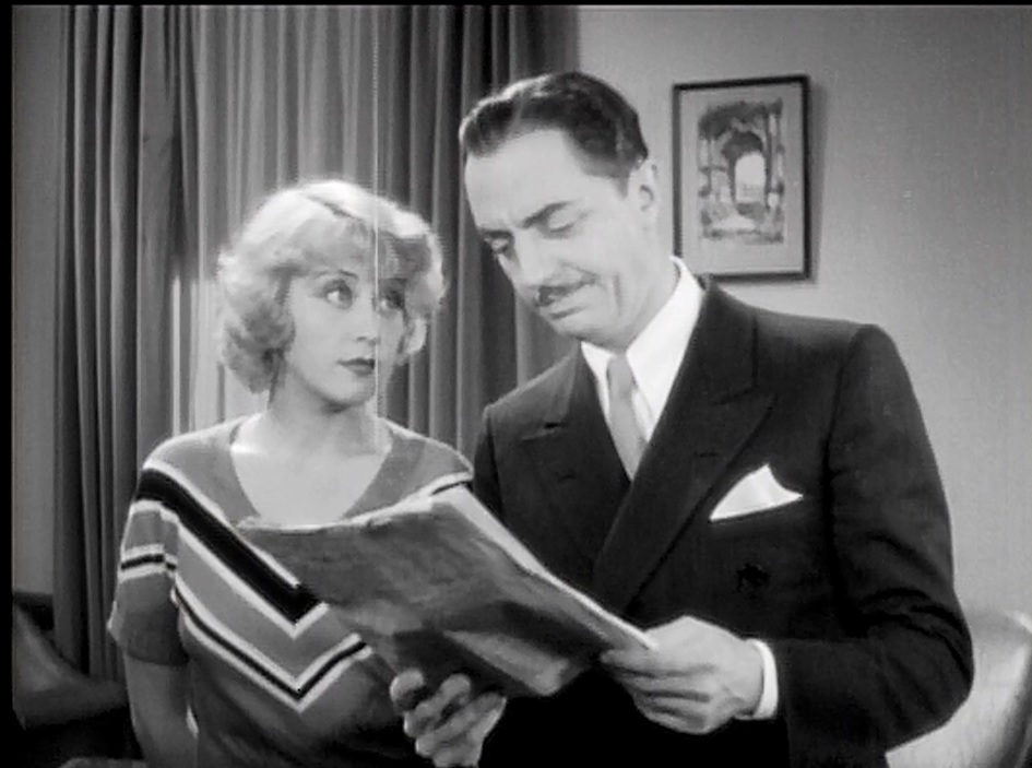 Joan Blondell and William Powell in Lawyer Man (1932)