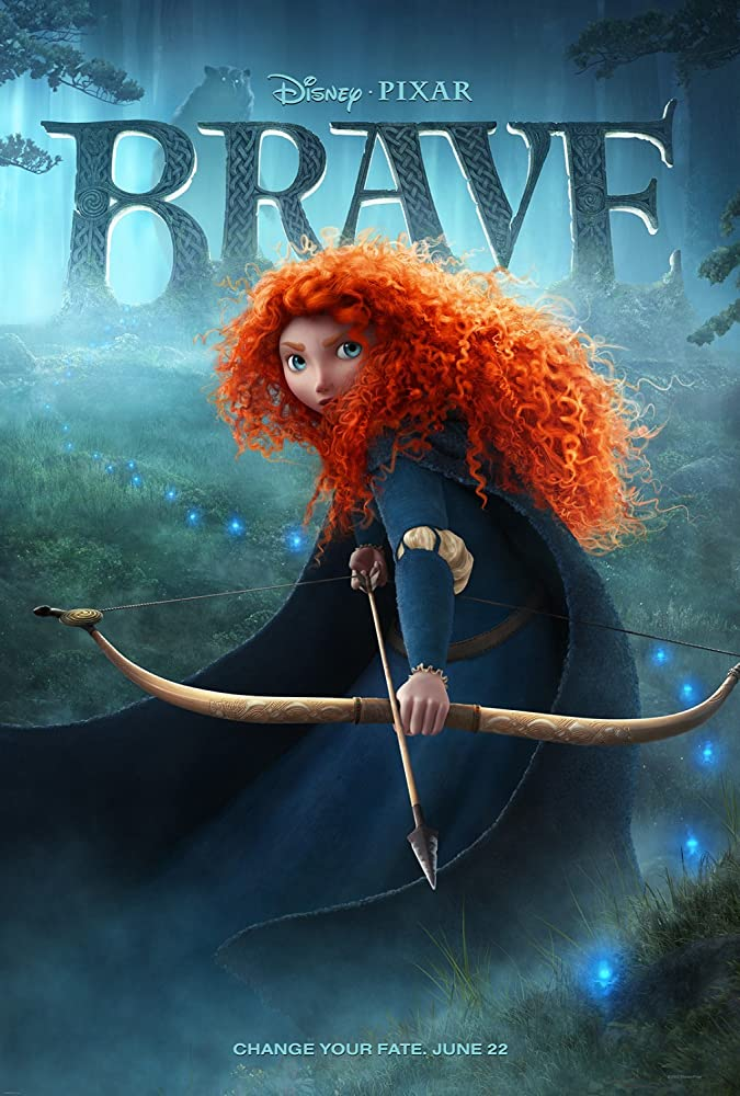 Brave (2012) Hindi ORG Dual Audio 300MB BluRay ESubs Download