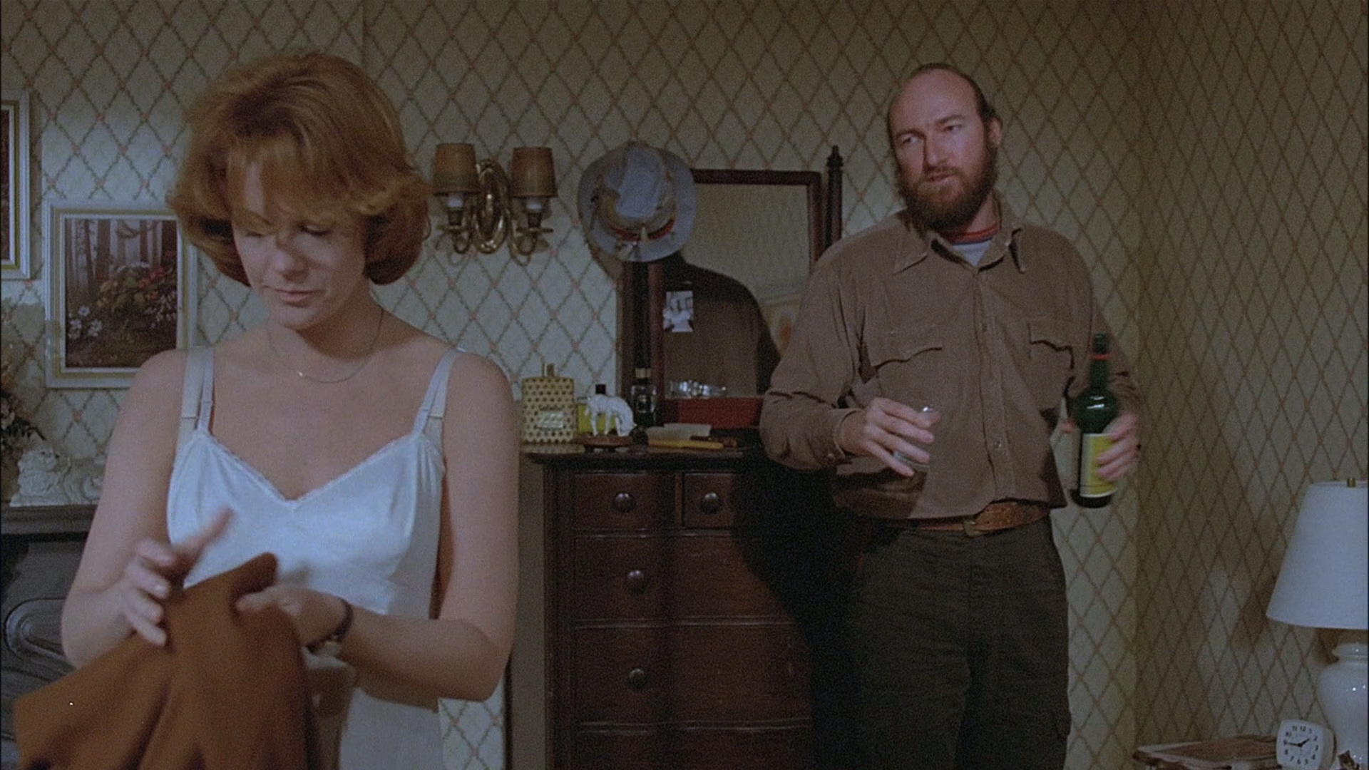 Ann-Margret and Ed Lauter in Magic (1978)