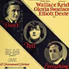 Don't Tell Everything (1921)