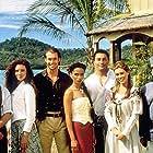 Rachel Blakely, Kimberley Joseph, Rowena King, Mark Lee, Rene Naufahu, William Snow, and Adrian Wright in Tales of the South Seas (1998)