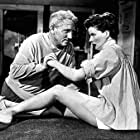 """722-1052 Katharine Hepburn and Spencer Tracy in """"Pat & Mike"""" 1952 MGM"""