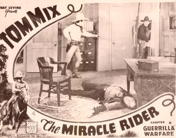 Tom Mix and Slim Whitaker in The Miracle Rider (1935)