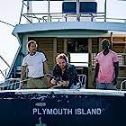 Matthew McConaughey, Djimon Hounsou, and Jason Clarke in Serenity (2019)