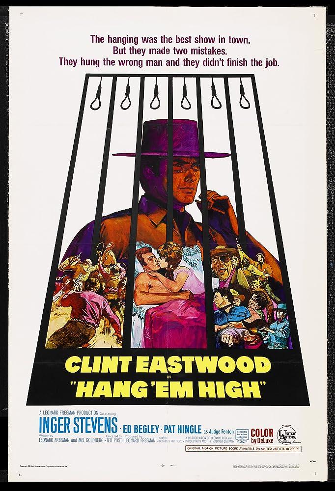 Clint Eastwood in Hang 'Em High (1968)