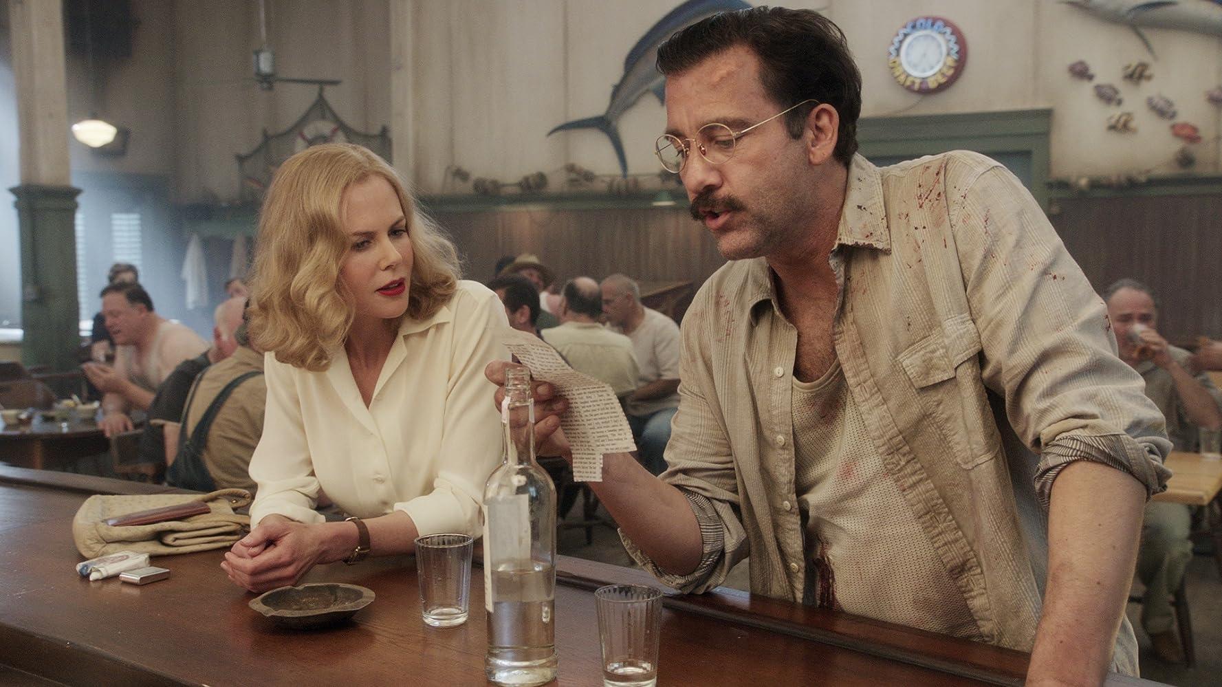 Nicole Kidman and Clive Owen in Hemingway & Gellhorn (2012)