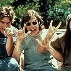 Rory Cochrane, Sasha Jenson, and Jason London in Dazed and Confused (1993)