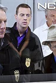 Mark Harmon, David McCallum, Sean Murray, and Brett Rice in NCIS: Naval Criminal Investigative Service (2003)