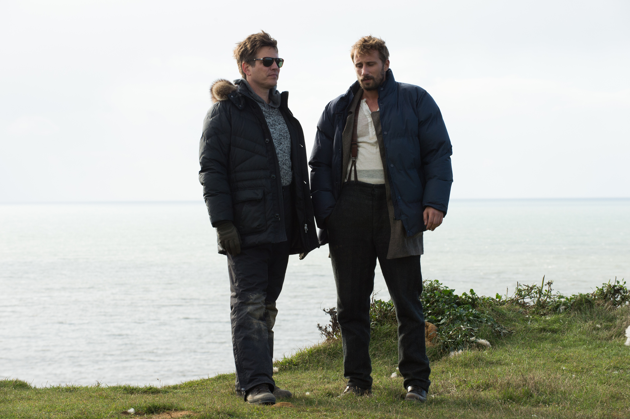 Matthias Schoenaerts and Thomas Vinterberg in Far from the Madding Crowd (2015)