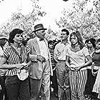 Orestis Makris, Dimitris Papamichael, and Aliki Vougiouklaki in To xylo vgike apo ton Paradeiso (1959)