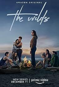 Mia Healey, Sophia Ali, Reign Edwards, Jenna Clause, Sarah Pidgeon, Erana James, Shannon Berry, and Helena Howard in The Wilds (2020)