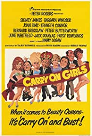 Carry on Girls (1973) Poster - Movie Forum, Cast, Reviews