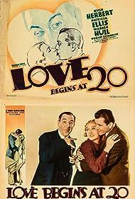 Hugh Herbert, Patricia Ellis, and Warren Hull in Love Begins at 20 (1936)