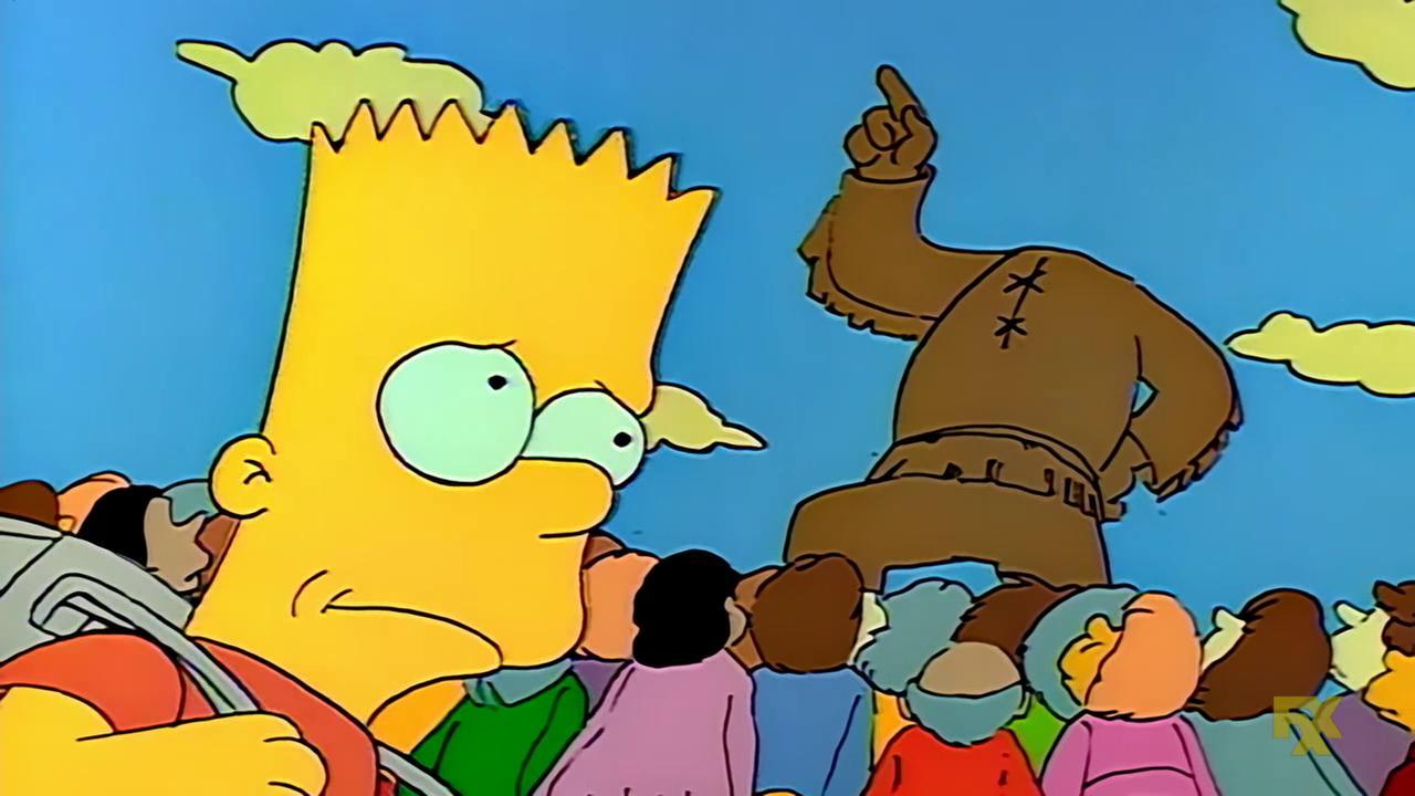 The Simpsons The Telltale Head Tv Episode 1990 Imdb