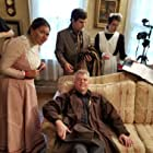 Autumn Allen, Terry Traynor, Dan Dovidio, and Margaret Traynor in The Dinner Party