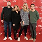 Claus Bjerre, Jytte Kvinesdal, Lars Ranthe, and Karla My Nordquist at an event for Malous jul (2020)