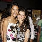 Danay Garcia and Marisa Tomei, at the wrap party of Danika.