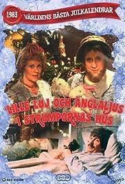 Lille Luj och Änglaljus i strumpornas hus Poster