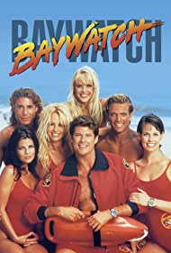 Pamela Anderson, Yasmine Bleeth, Alexandra Paul, David Hasselhoff, David Chokachi, Gena Lee Nolin, and Jaason Simmons in Baywatch (1989)