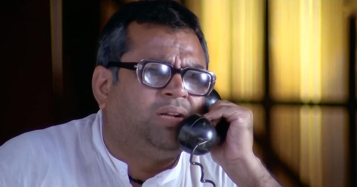Paresh Rawal in Hera Pheri (2000)