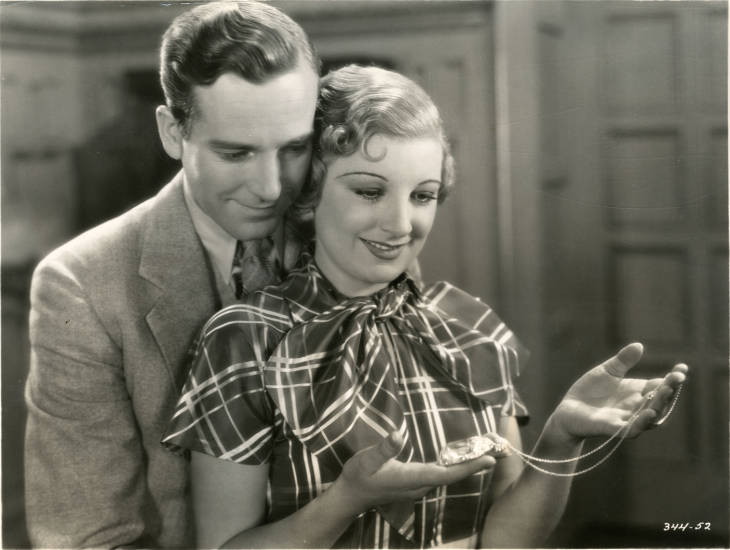Phyllis Barry and David Manners in The Moonstone (1934)