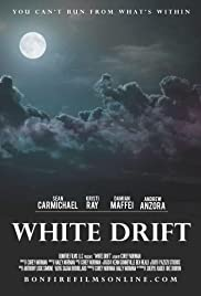 White Drift Poster