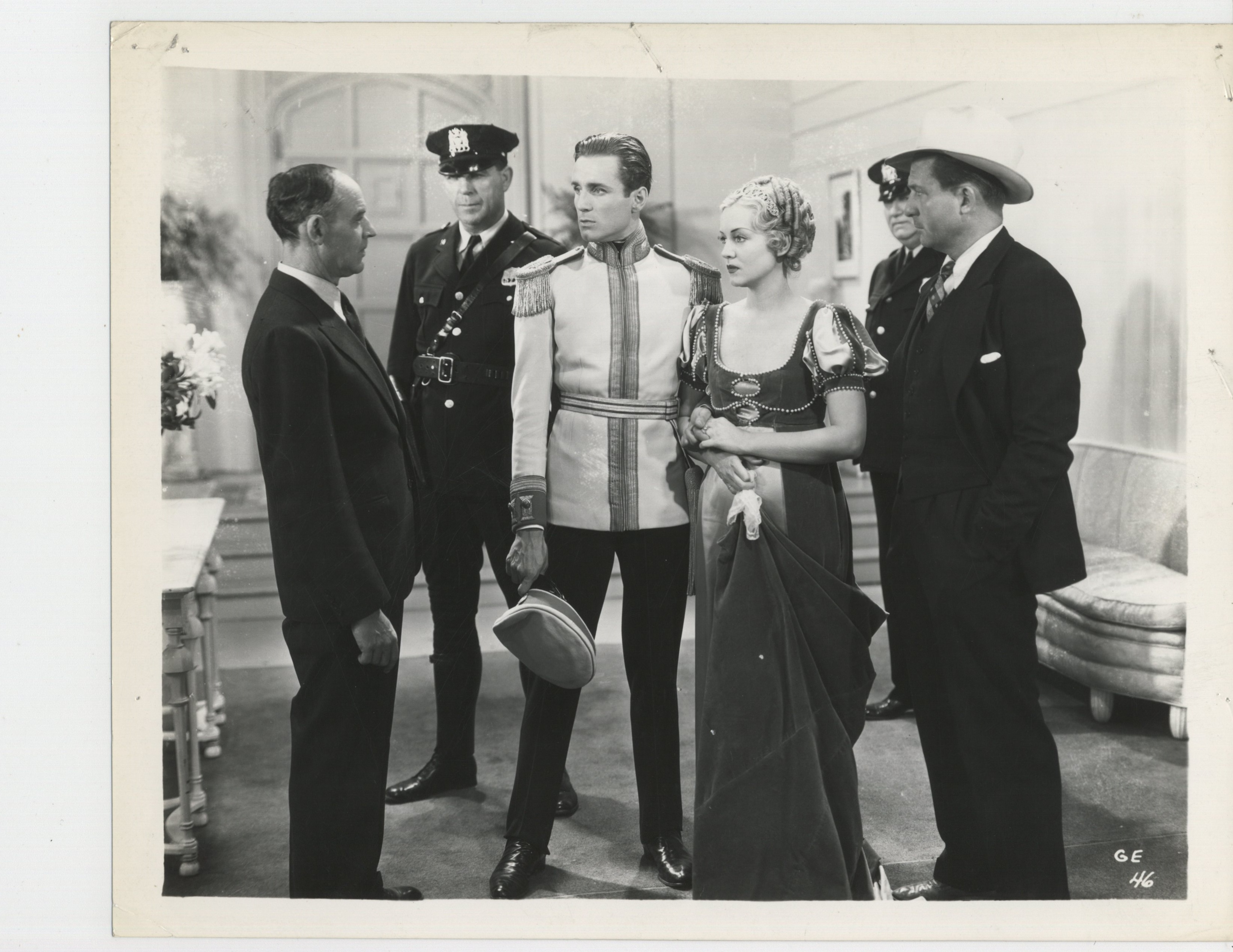 William Bakewell, Shirley Grey, and John Wray in Green Eyes (1934)