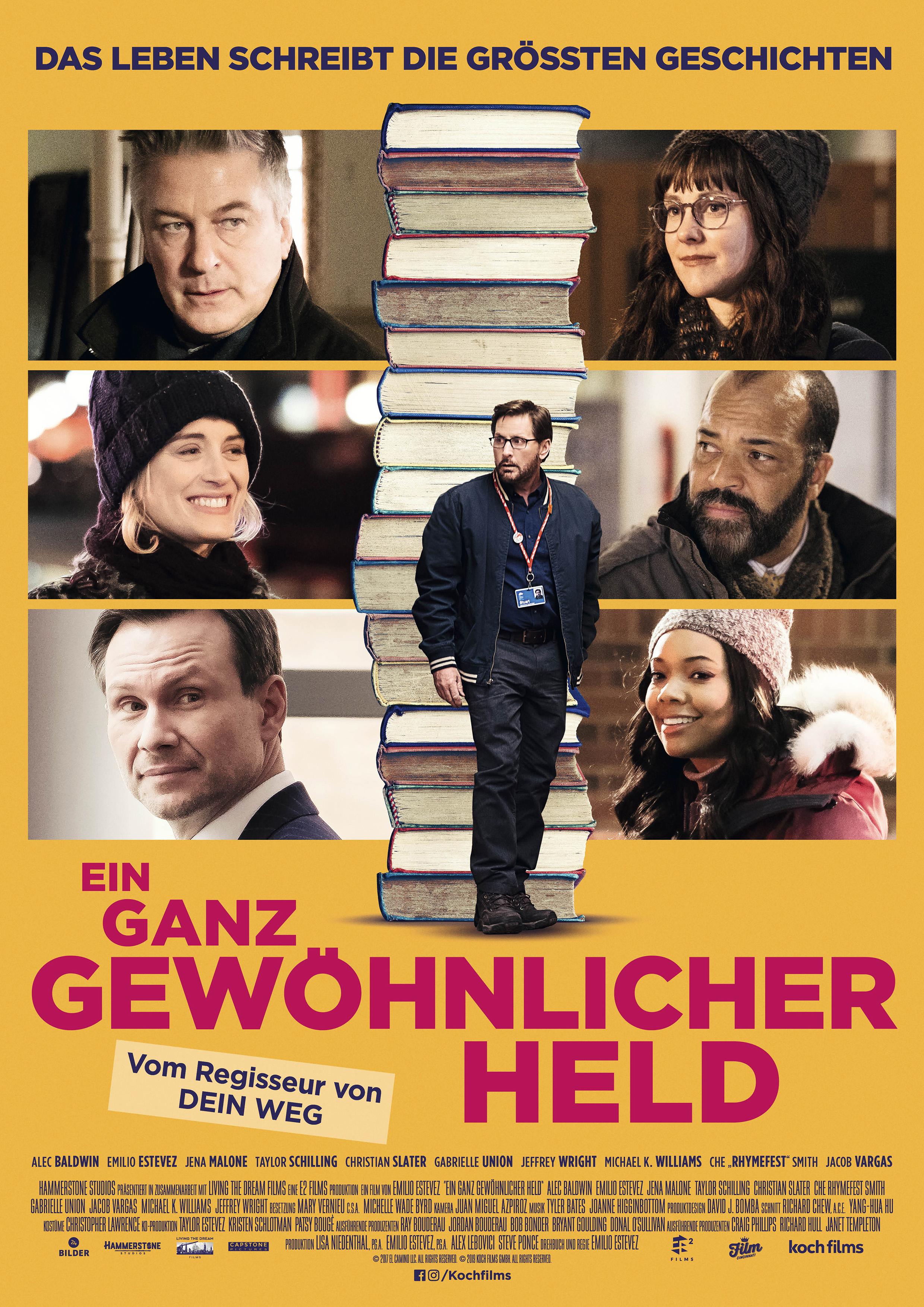 Christian Slater, Alec Baldwin, Emilio Estevez, Gabrielle Union, Jena Malone, Jeffrey Wright, and Taylor Schilling in The Public (2018)