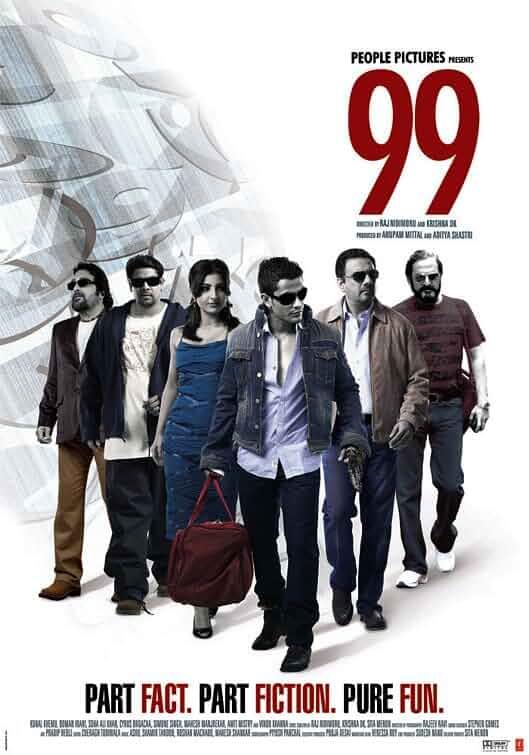 99 (2009) Hindi 720p HEVC HDRip x265 AAC ESubs [600MB] Full Bollywood Movie