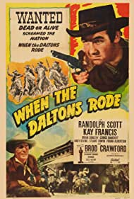 Randolph Scott and Broderick Crawford in When the Daltons Rode (1940)